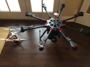 Left ~ DJI Phantom 2 Pro Pack, Right ~ S1000