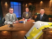 "On set of ""This Week in AgriBusiness"""