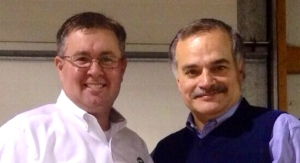 Chad Colby & Max Armstrong at event in Bureau County 12/2013